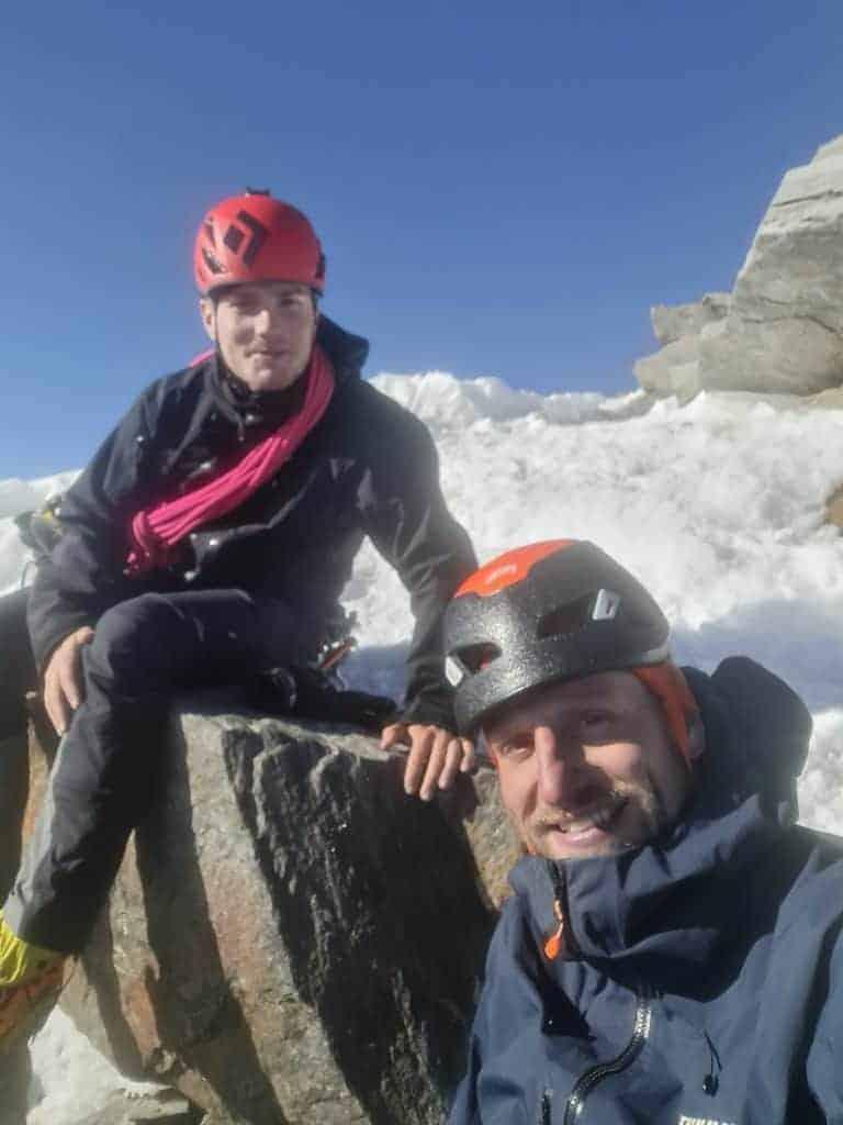 20210826 085956 768x1024 - Dufourspitze und Nordend – Unser Abschluss