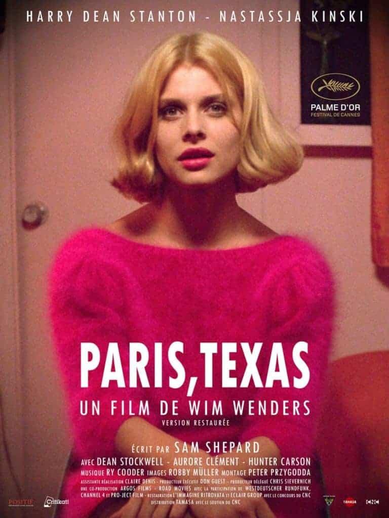 Nastassja Kinski in Paris, Texas - Cannes film festival award winner