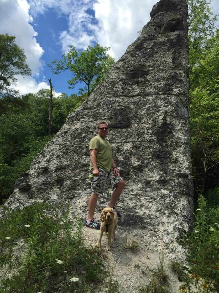 Austin Dam PA Dog Break