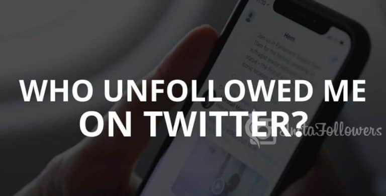 How do I see Who Unfollowed Me On Twitter