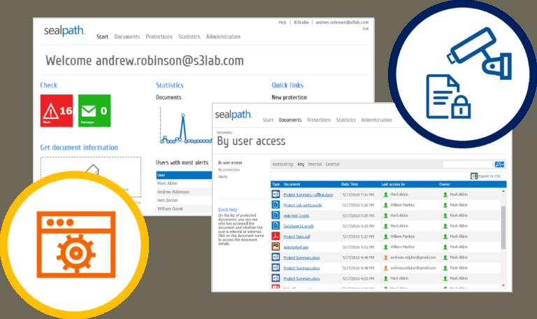 sealpath tracking auditoria accesos a ficheros