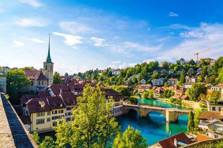 Turismo en Berna, capital de Suiza
