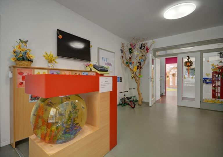 Královská mateřská škola v Praze vstupní hala