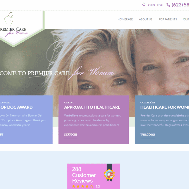 OBGYN practice Web Design