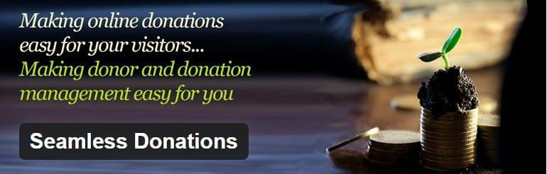 Seamless Donation Plugin