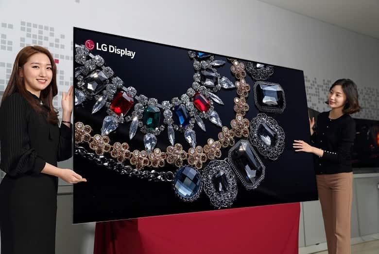 Televisor LG OLED 8K 88 pulgadas
