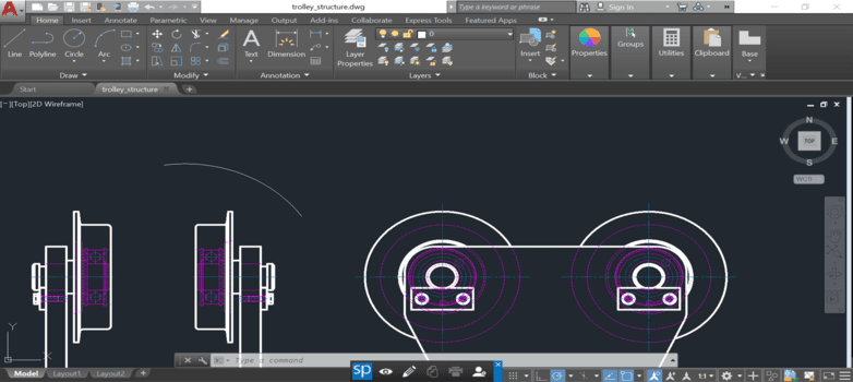 AutoCAD protection