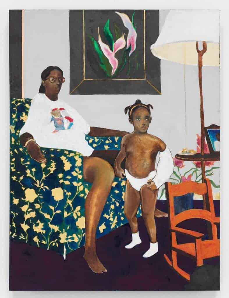 Single Mother with Father Out of the Picture (2007-2008) by Noah Davis.