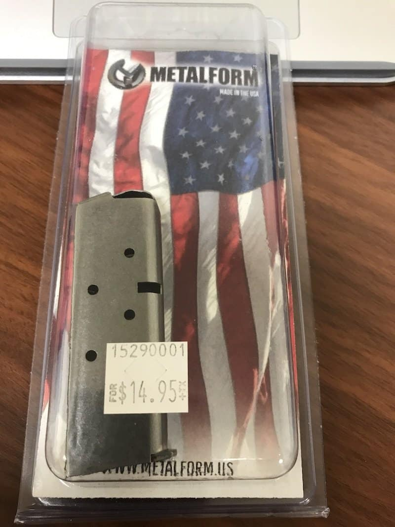 metalform-sig-p238-380-6-round-mag