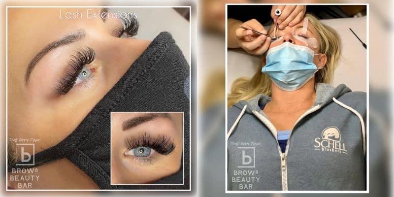 Volume eyelash extensions delaware