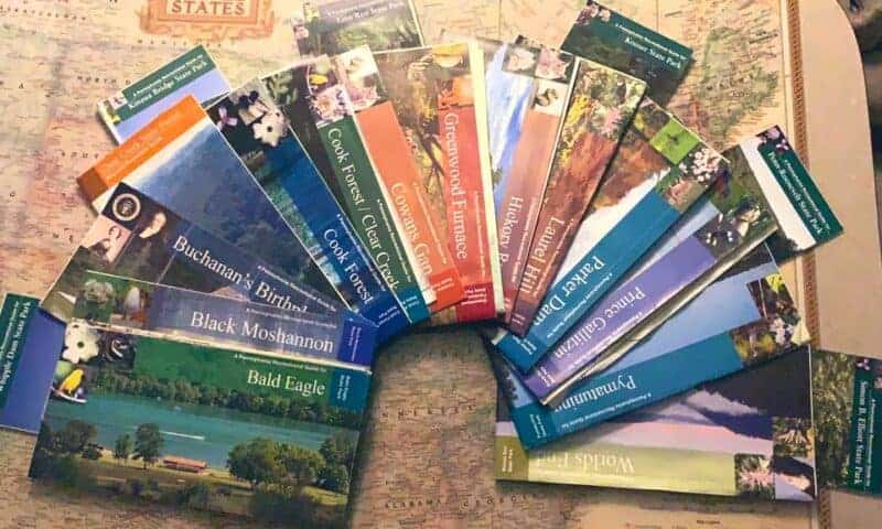 pa state park maps