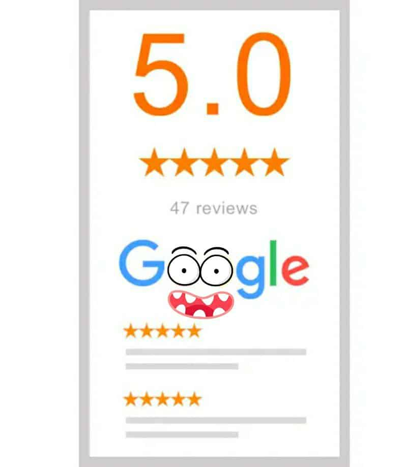 recensioni google schermata