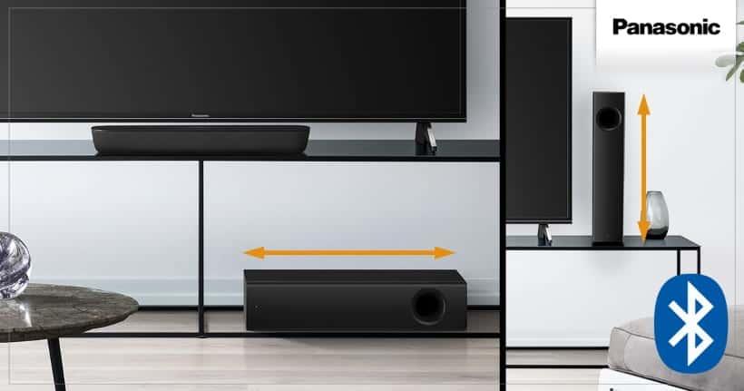 Panasonic SC-HTB250 barra de sonido compacta 2.1 las mejores barras de sonido 2021