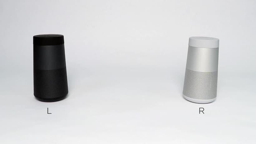Sonido estéreo con dos altavoces Soundlink Revolve