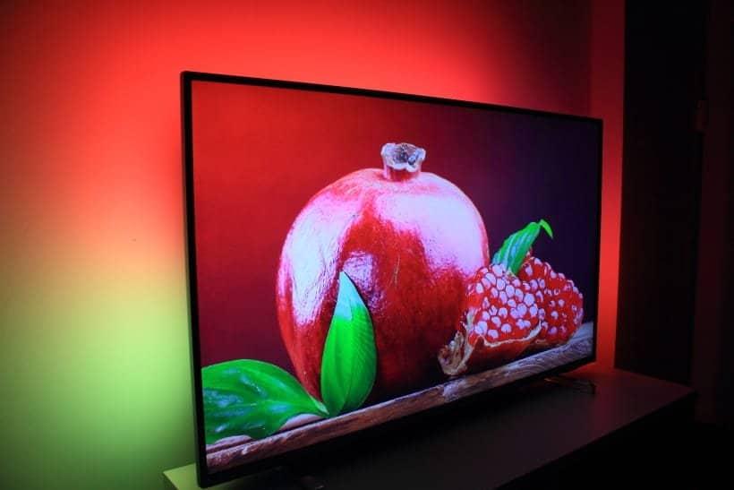 Ambilight en TV Philips PUS6754