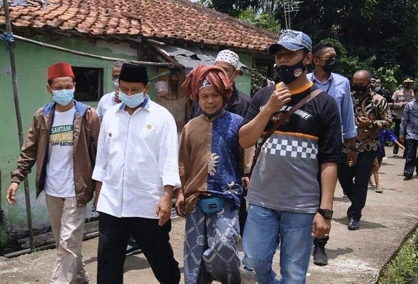 Wakil gubernur Jawa Barat, H. UU Ruzhanul Ulum SE Saat Kunjungan Kerja ke Cianjur