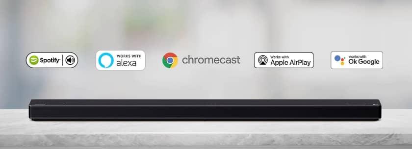 Compatibilidad gama Meridian con Chromecast, Airplay, Alexa y Google Assistant