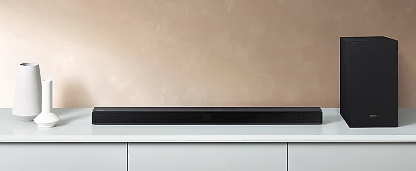 Samsung HW-T530 y T550 barras de sonido 2.1