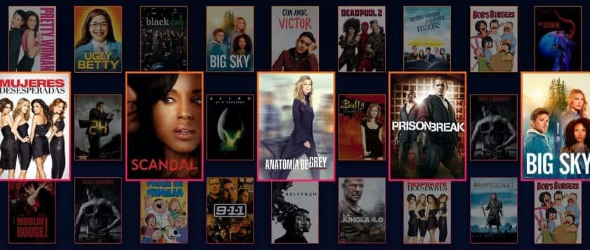 Series y películas disponibles con Star en Disney+