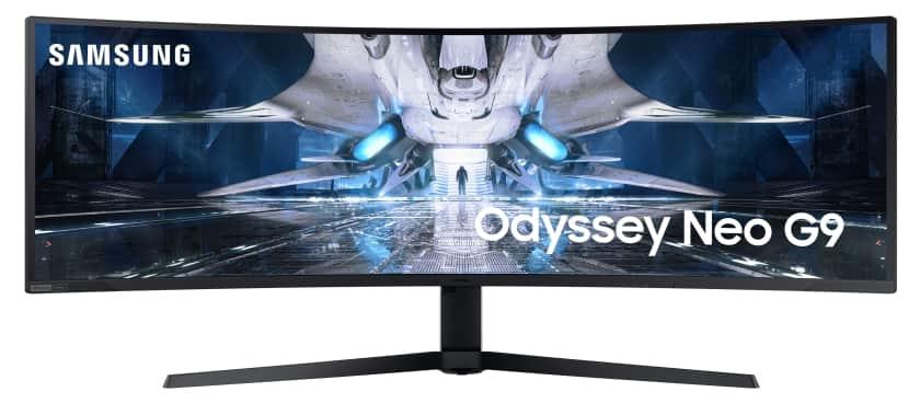 Monitor gaming Samsung Odyssey Neo G9 con HDMI 2.1