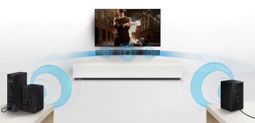 Kit de altavoces traseros inalámbricos para barras de sonido Samsung