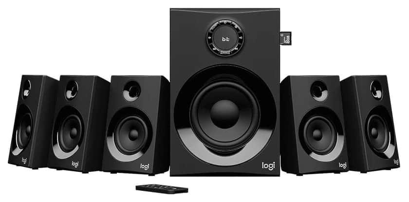 Logitech Z607 5.1 con 160W de potencia