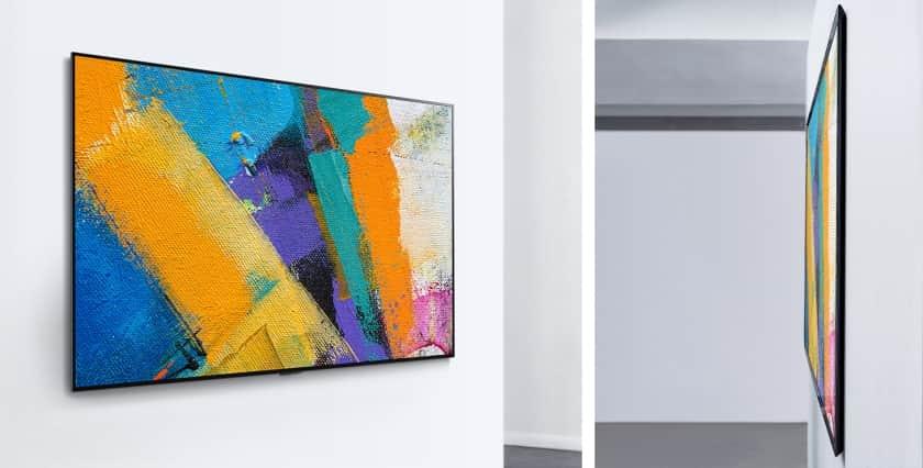 LG GX6LA OLED 2020 colgado en pared