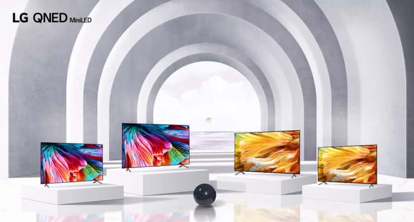 Nueva gama LG QNED Mini LED 2021