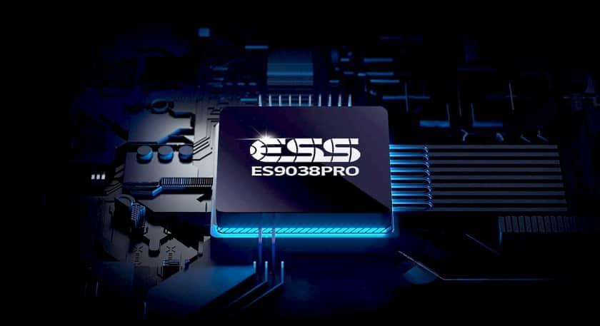 DAC ES9038 Pro Hi-Fi Quad del altavoz LG GP9 UltraGear