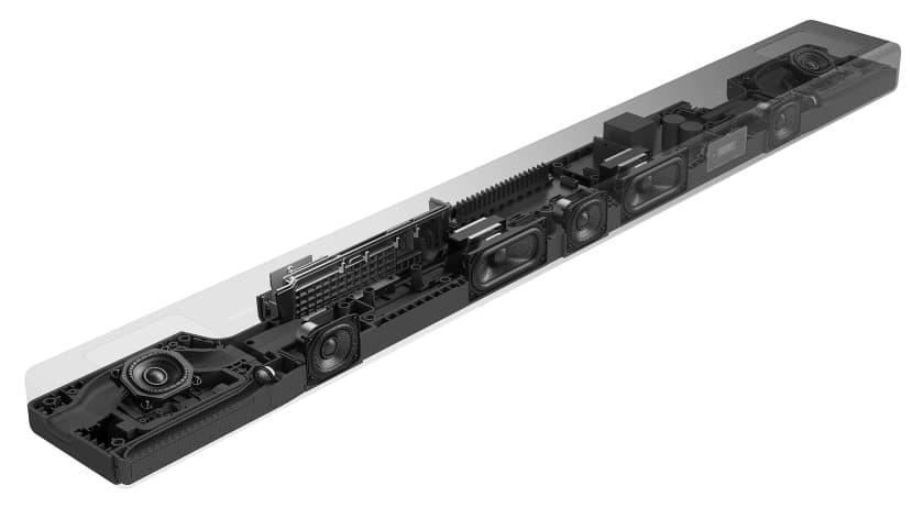 Sistema de altavoces barra de sonido Sony HT-A5000 de 5.1.2 canales