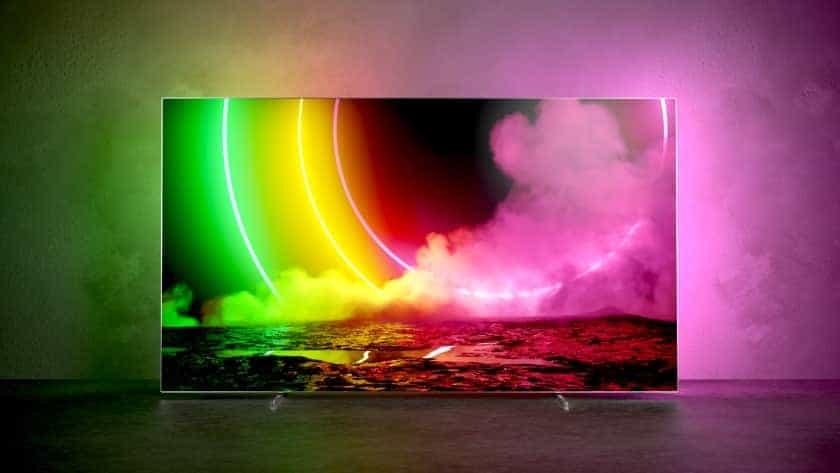 Nuevo televisor 2021 Philips OLED806 Ambilight