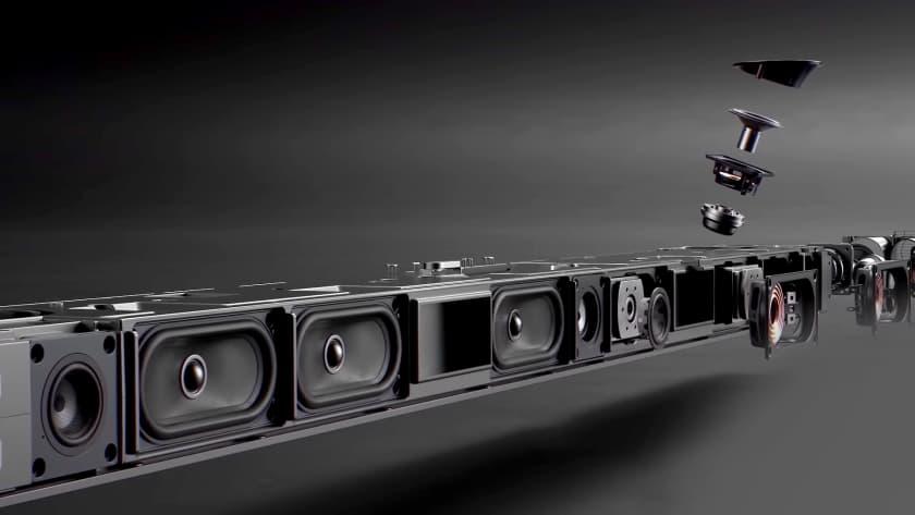 Sistema 11.4.2 barra de sonido Samsung HW-Q950A