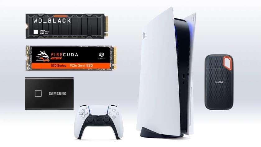Los mejores discos duros SSD para PS5