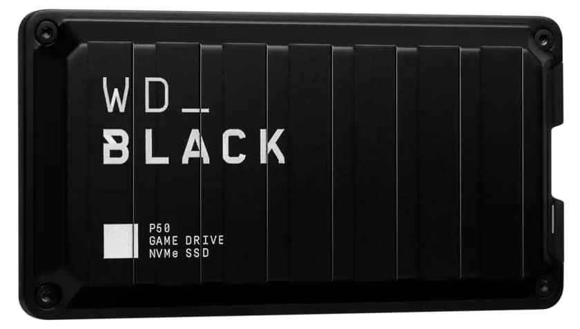 Western Digital WD_BLACK P50 Game Drive NVMe SSD