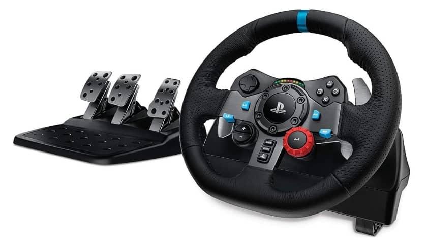 Volante de carreras Logitech G29 para PS5 con Force Feedback