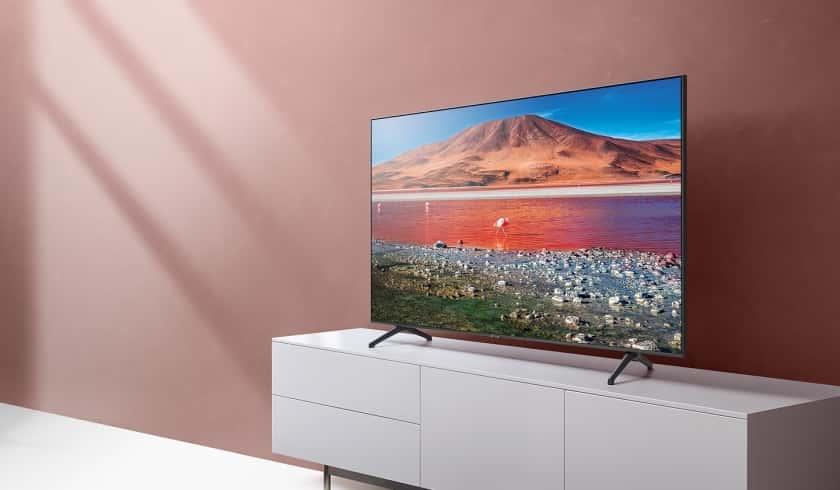 Samsung TU7005, TU7095, TU7105 y TU8005 - Diferencias y comparativa TV Crystal UHD de Samsung