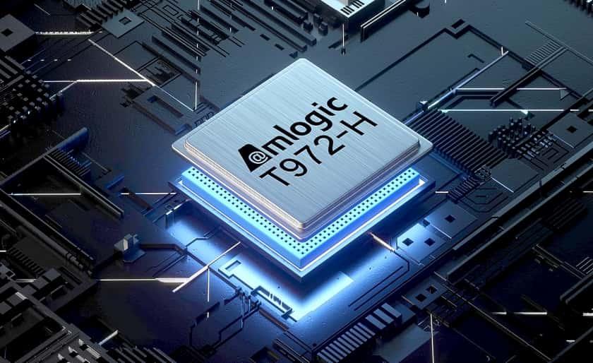 Procesador integrado Amlogic T972-H