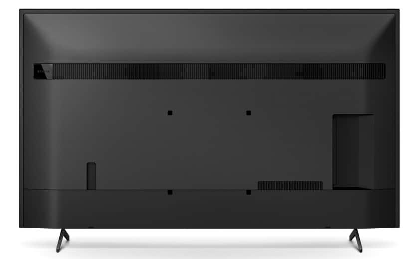 Parte trasera TV Sony X80J
