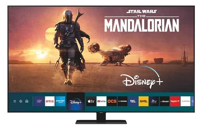 Televisores compatibles con Disney Plus
