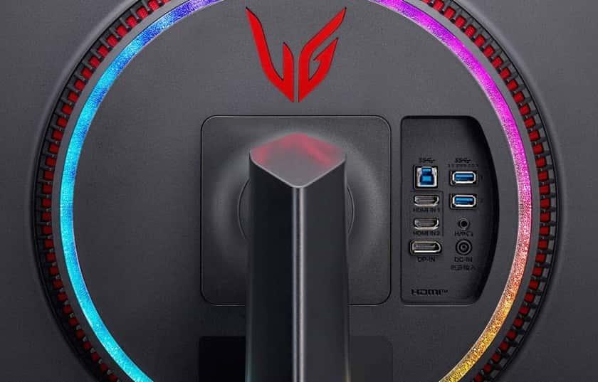 Conexiones del monitor LG UltraGear 27GP950