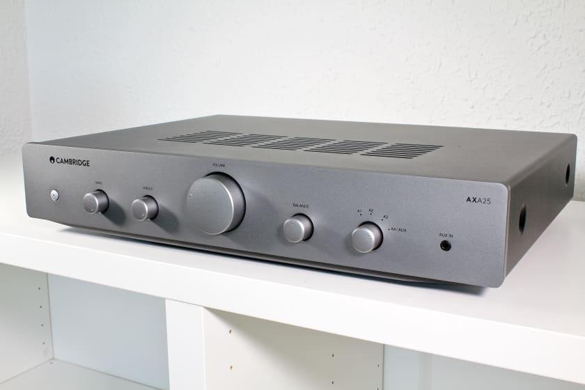 Amplificador estéreo integrado Cambridge Audio AXA25