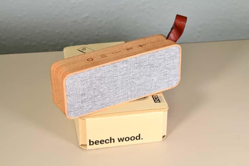 Altavoz de madera Beech Wood de Energy Sistem