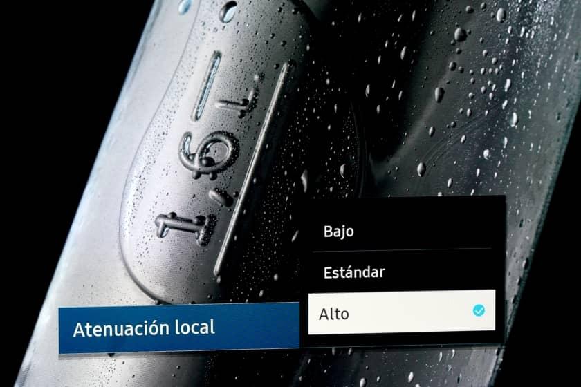 Modos de Local Dimming en el Samsung Q95T