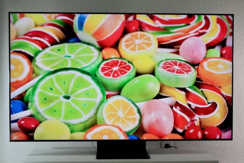 Reproducción de color Samsung Q95T QLED