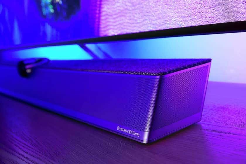 Philips OLED+ 936 con barra de sonido Bowers & Wilkins