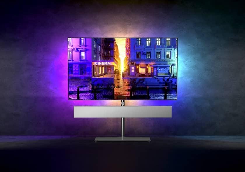 Nuevo TV Philips OLED+ 986 con sonido Bowers & Wilkins