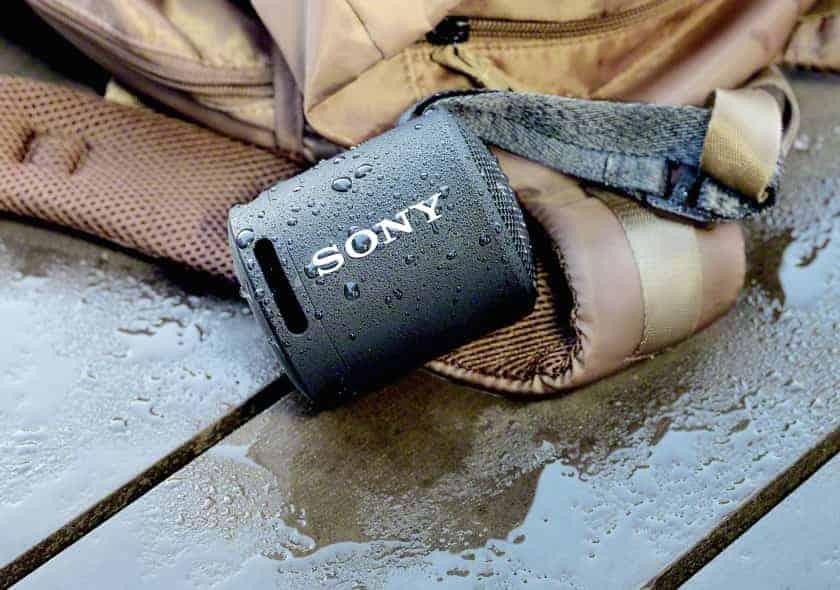 Altavoz Sony SRS-XB13 con resistencia al agua