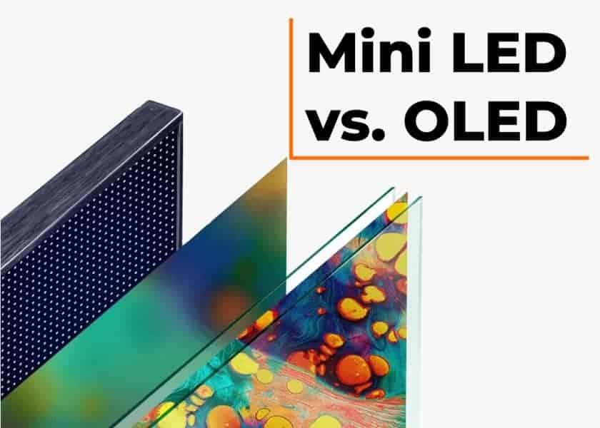 Mini LED vs. OLED Qué es mejor - Comparativa y diferencias