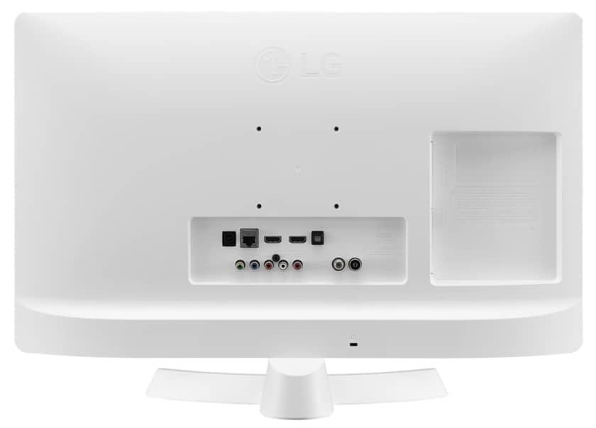Parte trasera conexiones LG 28TL510S-WZ color blanco