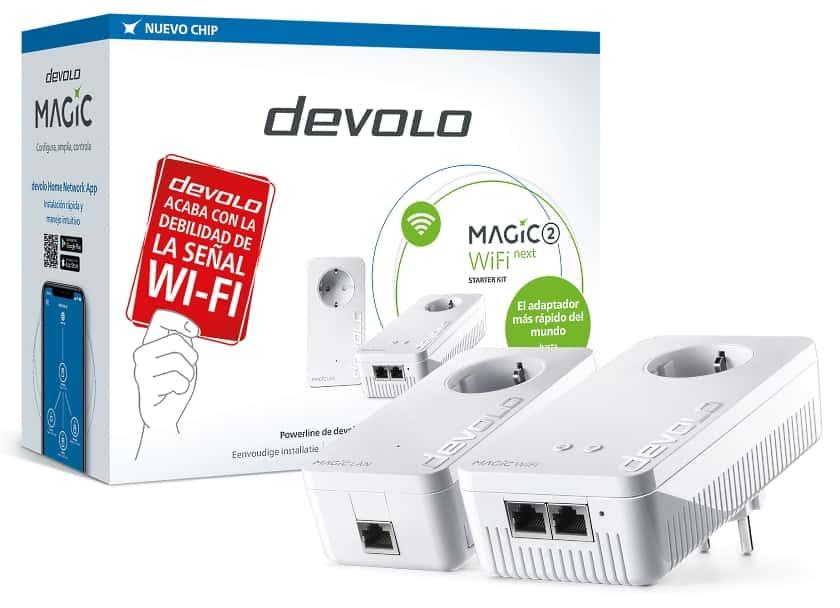 Adaptadores PLC Devolo Magic 2 WiFi